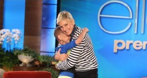 Ellen talked with Talia Castellano, a 13 year old with cancer, who is an aspiring makeup artist and makes Youtube videos giving out makeup tips.