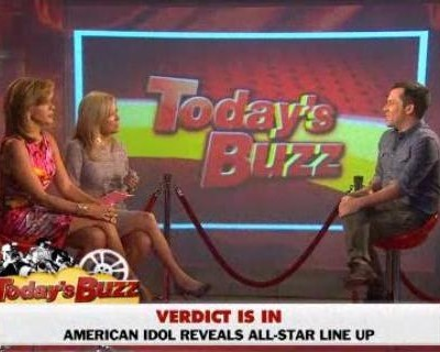 Tim Stack discussed The Buzz, including Kate Middleton topless photos, Robert Pattinson and Kristen Stewart dating again & American Idol judges announced.