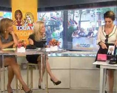Kathie Lee and Hoda with The Scoop talked about Make Up For Ever Lip Gloss, what type of driver are you, Yummie Tummie Leggings and Pedi Couture reviews.