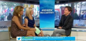 Kathie Lee & Hoda: Andrew McCarthy 'The Longest Way Home' Review