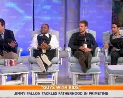 Kathie Lee & Hoda talked with Jimmy Fallon and the stars of Guys with Kids: Anthony Anderson, Zach Cregger & Jesse Bradford, who talked about the new season