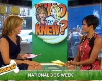 For their weekly trivia game, Who Knew?, Kathie Lee and Hoda had all questions about dogs, including Lassie's first movie and the dog breed of Scooby-Doo.