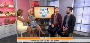 Kathie Lee & Hoda talked with Kyle Humphrey & Graydon Sheppard, the creators of the videos and the authors of the new book, Sh*t Girls Say.