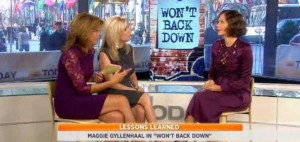 Kathie Lee & Hoda: Maggie Gyllenhaal 'Won't Back Down' Review