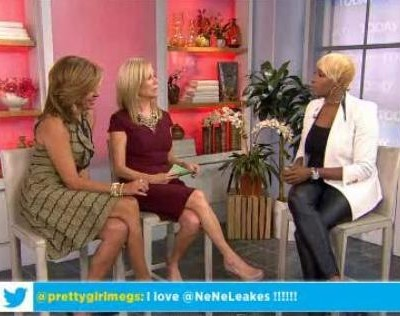 Kathie Lee & Hoda talked to NeNe Leakes about her roles on The New Normal, Glee and Real Housewives of Atlanta, working for Ryan Murphy & her busy schedule.