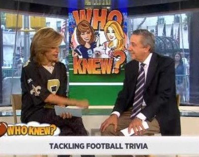 Kathie Lee & Hoda had football trivia with the help of Len Breman, including most Super Bowl wins, Super Bowl ticket prices & pigskin origin.