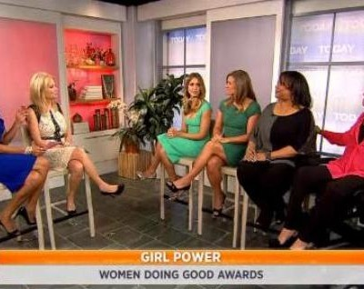 Kathie Lee and Hoda talked with Woman Doing Good Award winners, including Jessica Alba Baby2Baby and Tonia Farman of Athletes for Cancer.