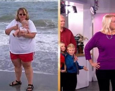 Kathie Lee & Hoda introduced the newest member of The Joy Fit Club, Jenny Hodges, who lost 212 pounds while going from 369 pounds and now weighs 157 pounds.
