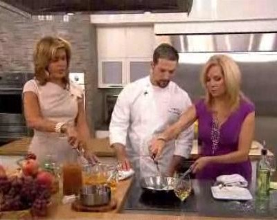 Kathie Lee and Hoda were joined in the kitchen by Paul Corsentino, Exective Chef at The National, who shared his Mocha Praline Recipe.