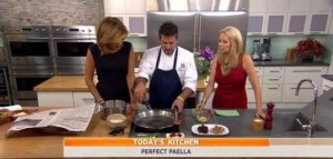 Today Show: Chef Perfecto Rocher's Black Tuscan Kale Salad Recipe
