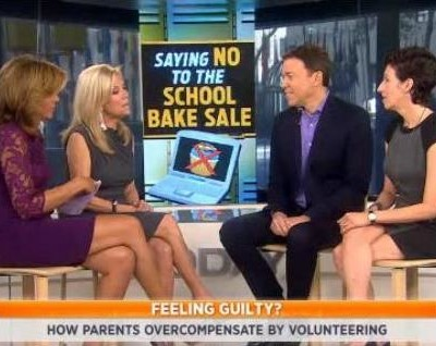 Kathie Lee and Hoda talked with Bruce Feiler and Linda Fears about working moms, volunteering at your child's school and saying no to the bake sale.