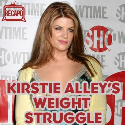 Dr Oz: Kirstie Alley Weight Gain - Learning To Deal with Metabolism