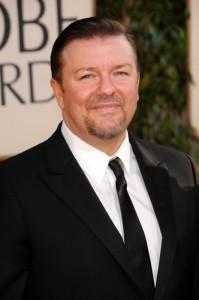 Ellen: Ricky Gervais 2012 Emmys Presenter & Twitter Fanatic