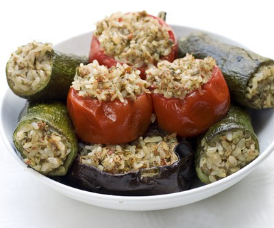 Kathie Lee & Hoda: Melissa d'Arabian Bulgur-Stuffed Veggies Recipe