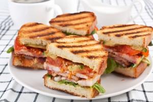 Italian BLT with Pesto Recipe & Turkey, Avocado and Tomato Wrap Recipe