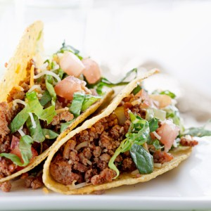 Hungry Girl's Mega-Meaty Meatless Tacos Recipe & Chicken Fingers Swap
