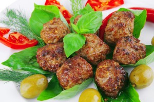 Rocco DiSpirito's Meatballs Recipe & Strawberry Italian Ice Recipe