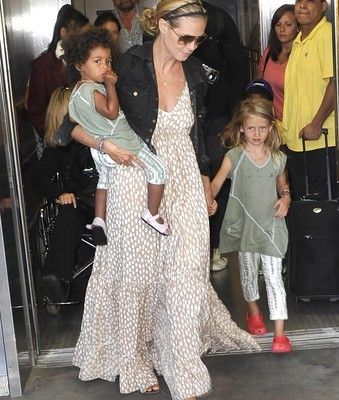 Heidi Klum Truly Scrumptious Kids R Us Clothes on Good Morning America