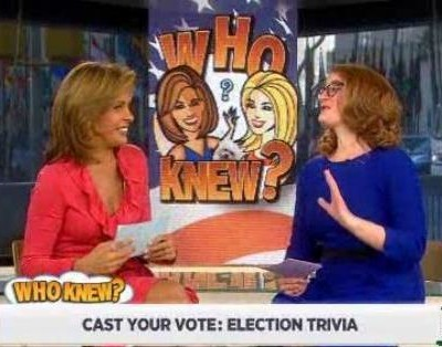 With the election coming up, Kathie Lee and Hoda tested your knowledge on election trivia, including electoral votes to win and Nixon Vs Kennedy debate.