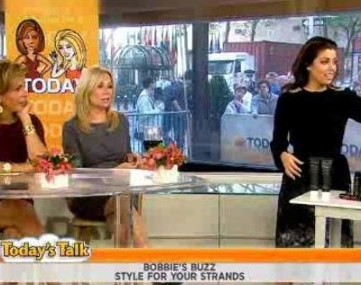 Kathie Lee and Hoda with The Scoop & the ladies talked about Stylescope app, Quadski review, Friday Funny, kids & cell phones and Foaming Color Gloss review
