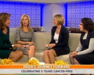 October 25 2012 marked Hoda five year cancer free, so the ladies took a look back at her journey and talked to doctors about early detection saves lives.