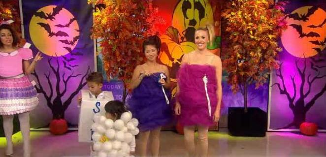 kathie lee and hoda talked to bobbie thomas who shared creative family costumes for halloween