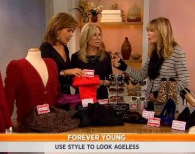 Kathie Lee & Hoda talked to Christine Schwab, who showed the ladies ageless beauty tips, including less is more for makeup, black jeans & no dark beverages.