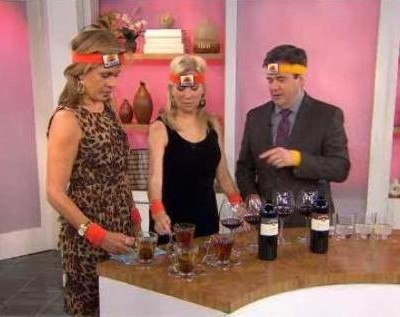 Kathie Lee and Hoda were joined by Ray isle, who exercised the ladies on wine tasting, including Boroli Barolo, Chardonnay and Kris Pinot Grigio reviews.