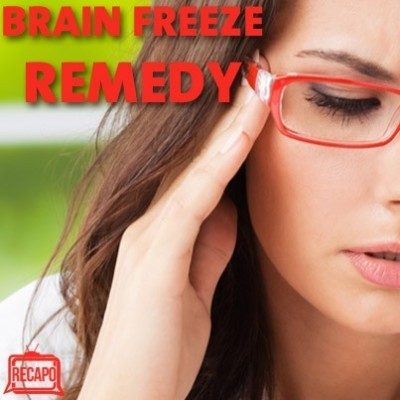Dr Oz: Is It Normal or Nuts To Smell Your Food & Brain Freeze Remedy