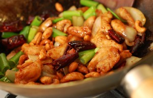 The Chew: Ming Tsai's Wok Stirred Chile and Cashew Chicken Recipe