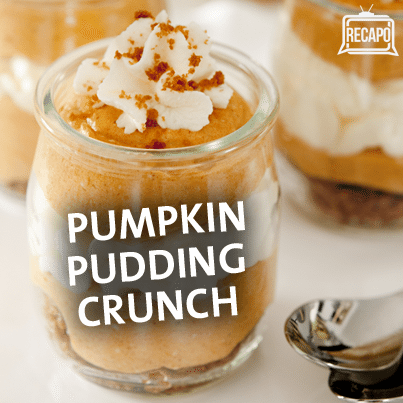 Kelly & Michael: Nicole Murphy's Pumpkin Pudding Crunch Recipe