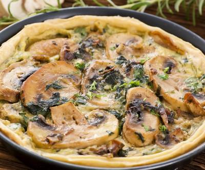 GMA: Carla Hall Cookbook, Rustic Mushroom Tart & Root Vegetable Ragout