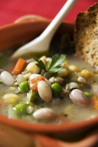 The Chew: Mario Batali's Pasta E Fagioli (Bean & Pasta Soup) Recipe