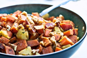 The Chew November 9 2012 - Daphne Oz's Turkey Sweet Potato Hash Recipe
