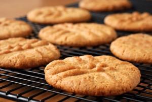 The Chew: Peanut Butter Cookies with Chocolate-Hazelnut Spread Recipe