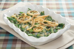 The Chew: Green Bean Casserole with Caramelized Onions and Puff Pastry