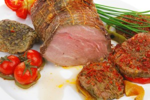 The Chew: Beef Tenderloin With Pomegranate Fennel Salad Receipe