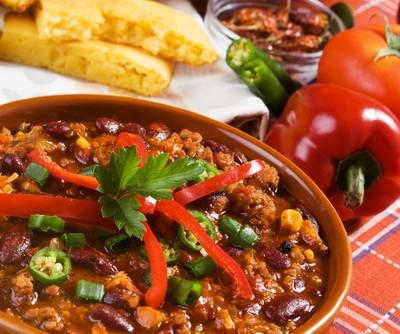 The Chew: Cyndi Lauper & Mario Batali Green Chili Stew Recipe