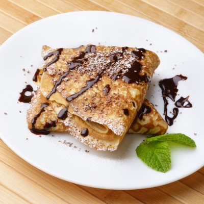 The Chew: Callie Thorne & Carla Hall Chocolate-Caramel Nachos Recipe