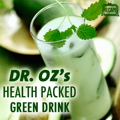 Dr Oz: Low Enzyme Test & Dr Oz's New Green Drink Recipe with Bromelain