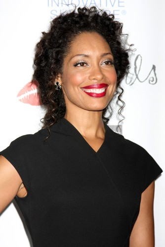 Gina Torres will come by The Chew on February 9, 2015, to talk about her show Suits. (Helga Esteb / Shutterstock.com)