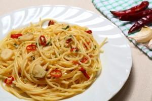 The Chew: Fabio Viviani & Mario Batali's Spaghetti Aglio e Olio Recipe