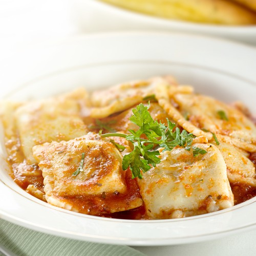 Mario Batali whipped up his ricotta and Swiss chard ravioli on The ...