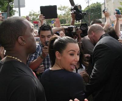 GMA: Kim Kardashian & Kanye West Instagram Photo