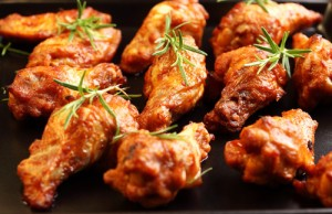 The Chew: Daphne Oz Sweet and Spicy Wings & Mario Batali Honey Wings