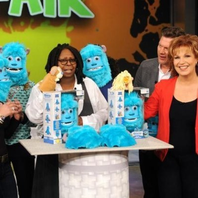 The View: Sulley Monsters Inc Mask Review & My Image Bracelet Maker