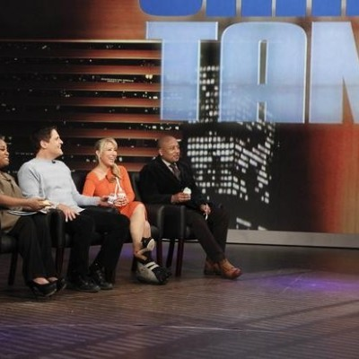 Shark Tank on The View: Uncle Louie G Italian Ice & Cool Straws Review