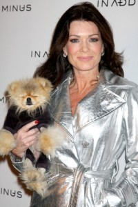 Lisa Vanderpump came by The Doctors to talk about her dog Giggy's struggle with Alopecia. (Helga Esteb / Shutterstock.com)
