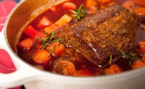 Today Show: Sandra Lee Cola Pot Roast Recipe & Champagne Cake Recipe