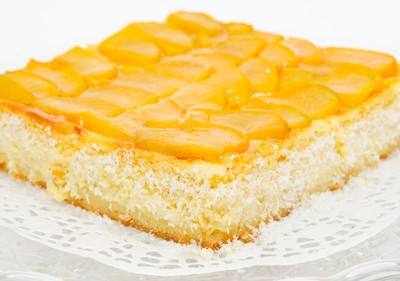 The Chew: Carla Hall's Pantry Peach Cake Recipe & Ingredients